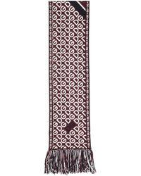 Dolce & Gabbana Foulard a logo rouge