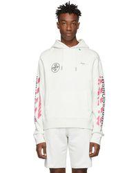 34c90dbaf760 Lyst - Sweat-shirt oversize à logo Gucci pour homme en coloris Blanc