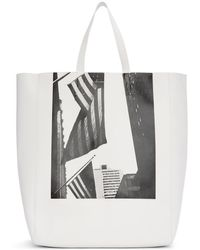 CALVIN KLEIN 205W39NYC - White Soft Andy Warhol Tote - Lyst