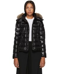 Moncler - Black Down Armoise Jacket - Lyst