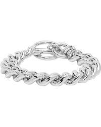 Jil Sander - Silver Chain Bracelet - Lyst