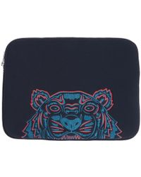 KENZO - Navy Tiger Laptop Pouch - Lyst