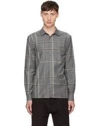Stephan Schneider - Grey Plaid Minute Shirt - Lyst