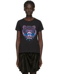 345a06c4d KENZO - Black Limited Edition Holiday Tiger T-shirt - Lyst