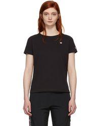 Champion - Black Small Logo T-shirt - Lyst