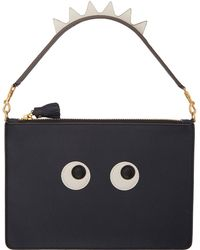 Anya Hindmarch - Navy Large Zip Pouch - Lyst