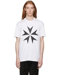 Black Large Military Star 2 T-Shirt Neil Barrett Factory Outlet Really Cheap Shoes Online Visit Sale Online Recommend Q6NHt7C