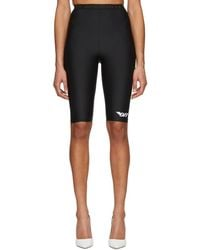 Off-White c/o Virgil Abloh - Black Basic Cycling Shorts - Lyst