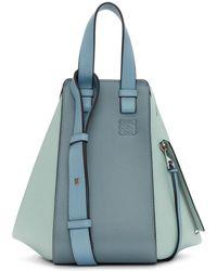 Loewe - Blue Small Hammock Bag - Lyst