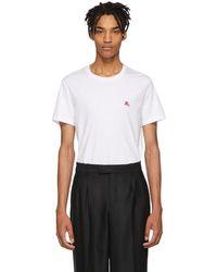 Burberry - White Joeforth T-shirt - Lyst