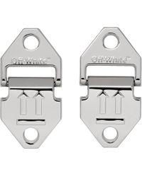 Off-White c/o Virgil Abloh - Silver Arrows Earrings - Lyst