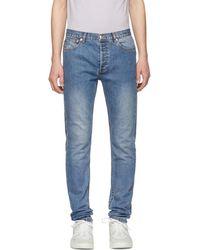 A.P.C. - Indigo Petit New Standard Jeans - Lyst