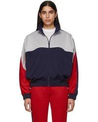 Nike - Grey And Blue Martine Rose Edition Nrg K Track Jacket - Lyst