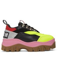 MSGM - Multicolour Tractor Trainers - Lyst