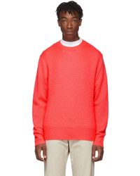 Acne Studios Pink Wool And Cashmere Peele Jumper