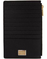 Dolce & Gabbana - Black Multiple Card Holder - Lyst