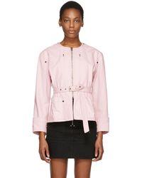Isabel Marant - Pink Nadia Chic Denim Jacket - Lyst