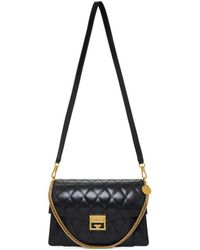 Givenchy - Black Quilted Medium Gv3 Bag - Lyst