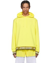 Opening Ceremony - Yellow Limited Edition Elastic Logo Hoodie - Lyst