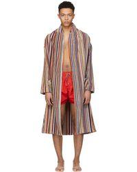 Paul Smith   Multicolour Stripe Bath Robe   Lyst