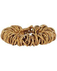 Balenciaga - Multi Ring Bracelet - Lyst