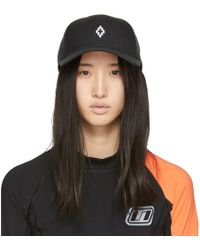 Marcelo Burlon - Black Starter Edition Cross Cap - Lyst