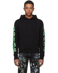 Off-White c/o Virgil Abloh - Ssense Exclusive Black 3d Diag Hoodie - Lyst
