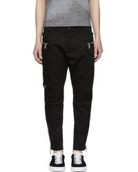 DSquared² - Black Sexy Cargo Pants - Lyst