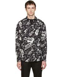 Dolce & Gabbana - Musical Instruments Shirt - Lyst