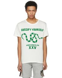 Gucci | White Fy Yourself T-shirt | Lyst