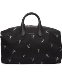 Alexander McQueen - Black Medium Holdall Bag - Lyst