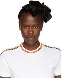 Miu Miu - Black Velvet Headband - Lyst