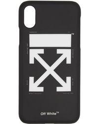 Off-White c/o Virgil Abloh - Etui pour iPhone X noir Arrows - Lyst