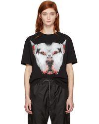 Marcelo Burlon - Black Dogo T-shirt - Lyst
