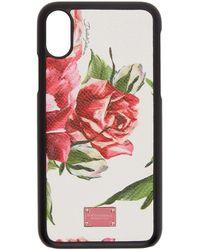 Dolce & Gabbana - Multicolor Peonies Iphone X Case - Lyst