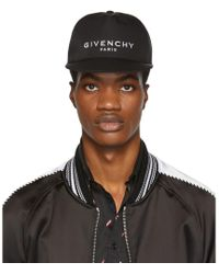 2284961ba0a Lyst - Givenchy Two Tone Logo Cap in Black for Men