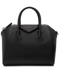 Givenchy - Black Small Antigona Bag - Lyst