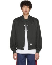 Dickies Construct - Black Academy Bomber Jacket - Lyst