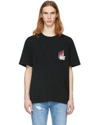 Alexander Wang - Black Awg Corporate T-shirt - Lyst