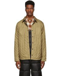 The North Face - Reversible Tan Fort Point Jacket - Lyst