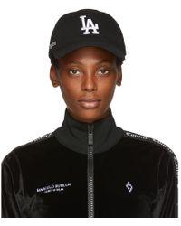 Marcelo Burlon - Black La Dodgers Edition Cap - Lyst