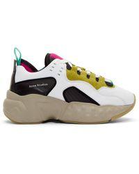 Acne Studios Ssense Exclusive Multicolor Nappa Manhattan Sneakers