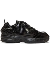 Nike - Black Martine Rose Edition Air Monarch Iv Sneakers - Lyst