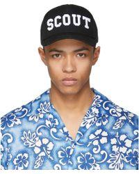DSquared² - Black Scout Cap - Lyst