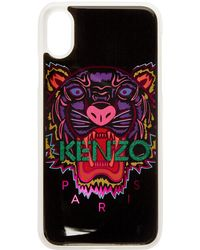 KENZO - Black And Pink Limited Tiger Iphone X Case - Lyst