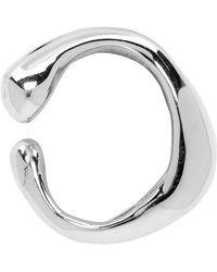 Faris - Silver Vero Single Ear Cuff - Lyst