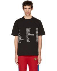 Xander Zhou - Black Jersey List T-shirt - Lyst