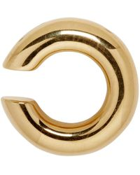 Saskia Diez - Gold Bold Ear Cuff - Lyst