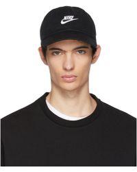 Nike - Black Nsw H86 Futura Washed Cap - Lyst