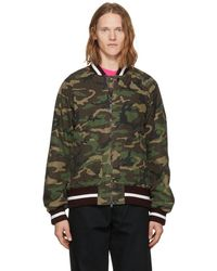 Nonnative - Multicolour Student Bomber Jacket - Lyst